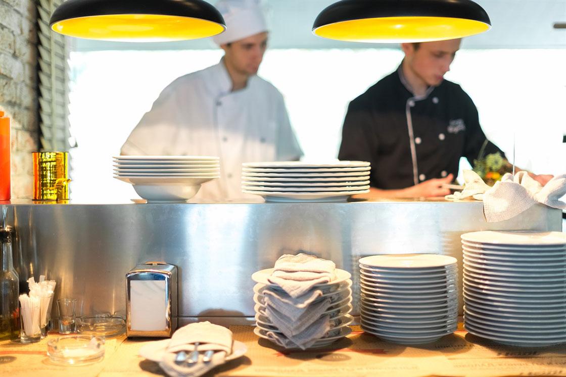 Czystość w lokalu od strony kuchni