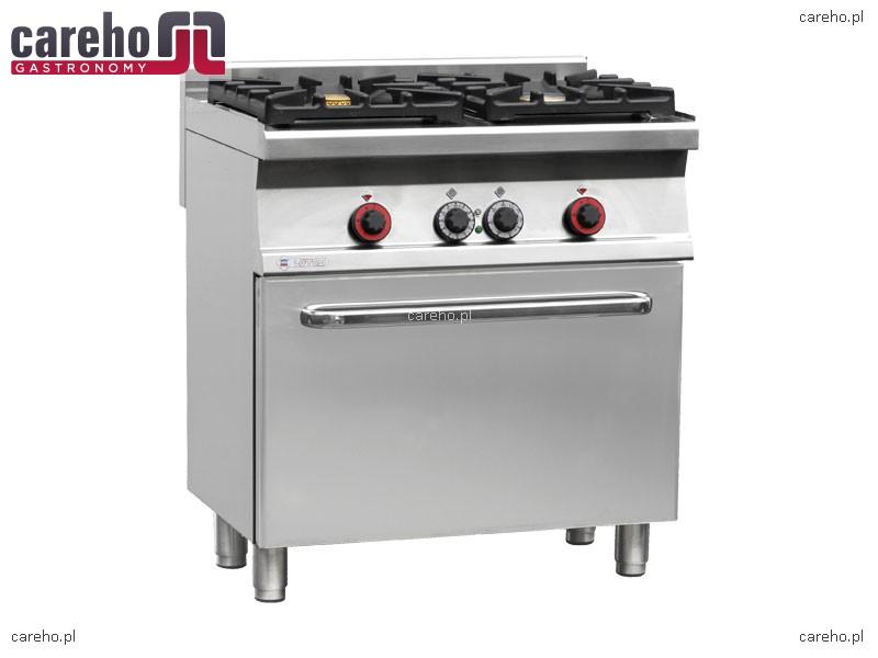 Kuchnia gazowa WOK 2 palnikowa z piekarnikiem elektrycznym   -> Kuchnie Gazowe Do Zabudowy Z Piekarnikiem Elektrycznym