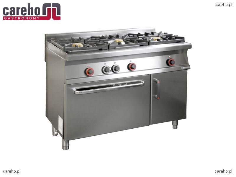 Kuchnia gazowa WOK 3 palnikowa z piekarnikiem elektr i szafką 30,05kW Rm Gas   -> Kuchnia Gazowa Wok