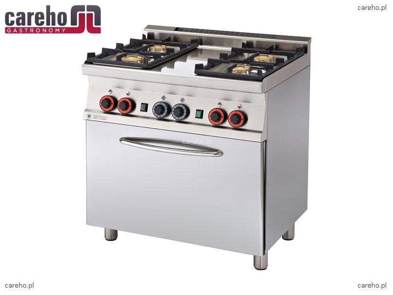 Kuchnia gazowa 4 palnikowa z piekarnikiem elektrycznym 20   -> Kuchnie Gazowe Do Zabudowy Z Piekarnikiem Elektrycznym