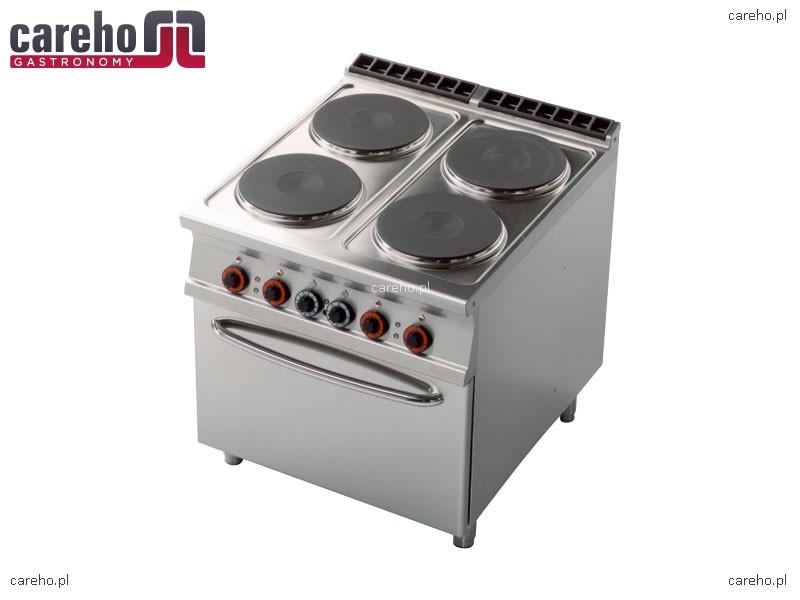 Kuchnia elektryczna 4 płytowa z piekarnikiem GN 2 1 20,7kW Rm Gastro CF4 98ET   -> Kuchnia Elektryczna Z Piekarnikiem Cena