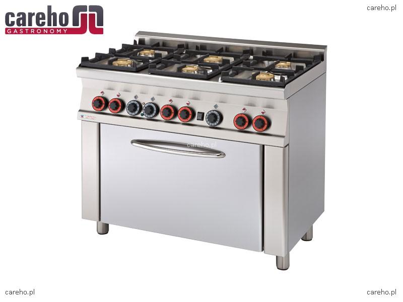 Kuchnia Gazowa 6 Palnikowa Z Piekarnikiem Elektrycznym 29 62kw Rm