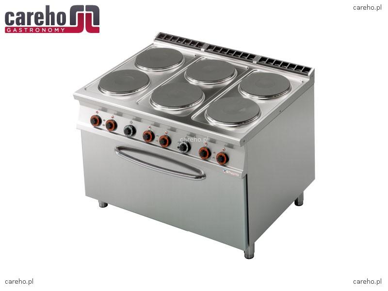 Kuchnia elektryczna 6 płytowa z piekarnikiem 3x GN 1 1 30,2kW Rm Gastro CF6 9   -> Kuchnia Elektryczna Z Piekarnikiem Cena