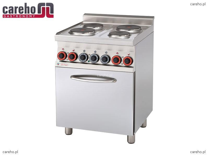 Kuchnia elektryczna 4 płytowa z piekarnikiem konwekcyjnym 9,05kW Rm Gastro CF   -> Kuchnia Elektryczna Z Piekarnikiem Cena