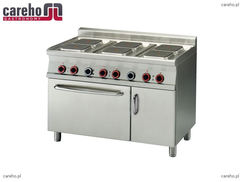 Kuchnia elektryczna 6 płytowa z piekarnikiem konwekcyjnym GN 1 1 20,6kW Rm Ga   -> Kuchnia Elektryczna Z Piekarnikiem Cena