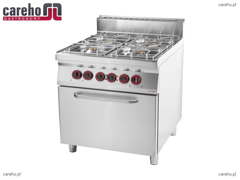 Kuchnia gazowa 4 palnikowa z piekarnikiem elektrycznym   -> Kuchnie Gazowe Do Zabudowy Z Piekarnikiem Elektrycznym
