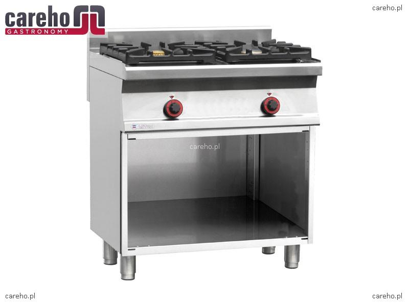 Kuchnia gazowa WOK 2 palnikowa z szafką 20kW Rm Gastro PC2 68GWOK  Kuchnie g   -> Kuchnia Gazowa Wok
