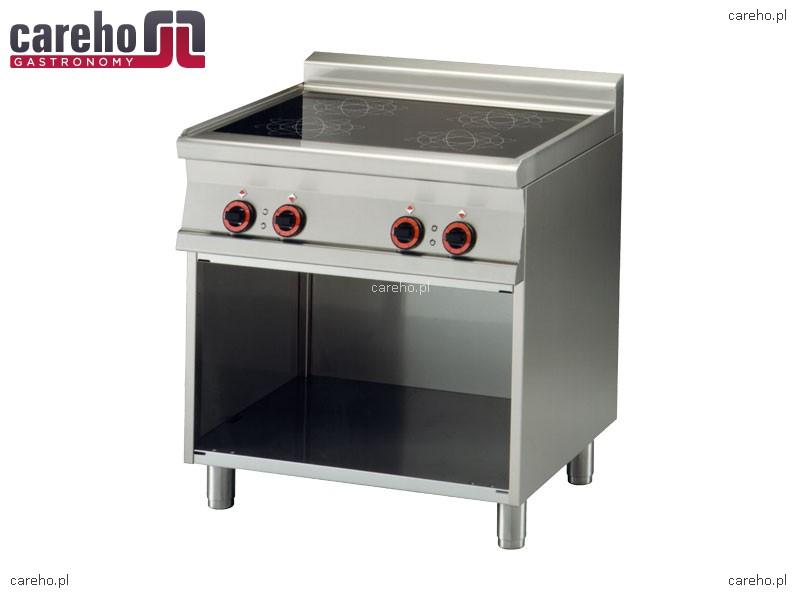Kuchnia elektryczna indukcyjna 4 strefowa z szafką 20kW Rm   -> Kuchnia Elektryczna Najtaniej