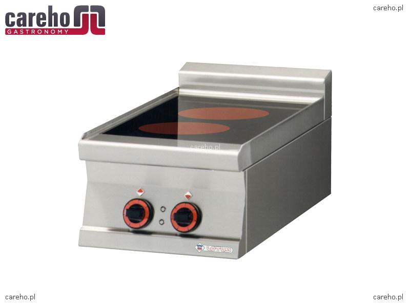 Kuchnia elektryczna ceramiczna 2 płytowa 5kW Rm Gastro   -> Kuchnia Elektryczna Ceramiczna
