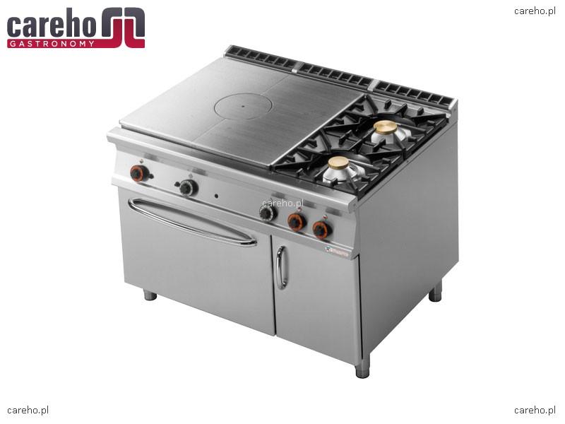 Kuchnia gazowa z płytą żeliwną i z piekarnikiem   -> Kuchnie Gazowe Do Zabudowy Z Piekarnikiem Elektrycznym
