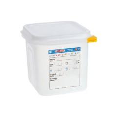 Pojemnik GN 1/6 z  polipropylenu z pokrywką szczelną
