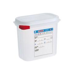 Pojemnik GN 1/9 z  polipropylenu z pokrywką szczelną