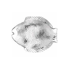 Półmisek szklany do ryb 260x210mm