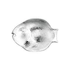 Półmisek szklany do ryb 335x254mm