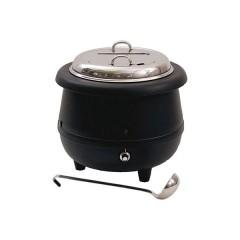 Kociołek elektryczny do zupy ∅350mm 10l z chochlą