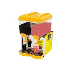 Schładzacz do napojów żółty 2x12l 0,27kW