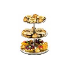Patera 3 stopniowa standard do tortów