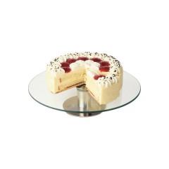 Patera do tortów i ciast - szklana ∅300mm
