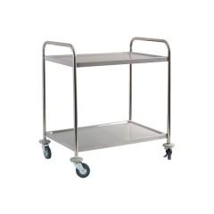 Wózek kelnerski dwupółkowy