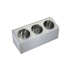 Pojemnik na sztućce - 3 częściowy