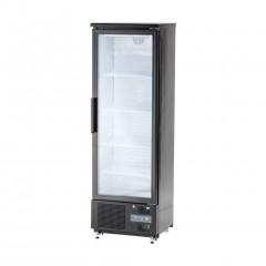 Witryna chłodniczna do butelek 300l drzwi otwierane