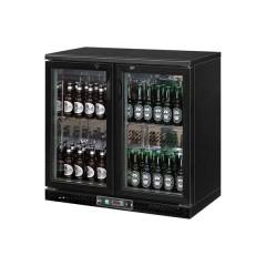 Szafa chłodnicza do butelek 250 litrów drzwi otwierane