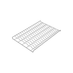 Ruszt chromowany - 5 rowków ( 600x400)mm