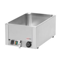 Bemar elektryczny pojedyńczy z kranem GN 1/1 - 150mm