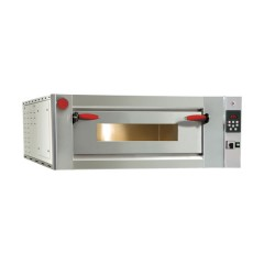 Piec do pizzy jednopoziomowy  4x Ø350mm 6,6kW