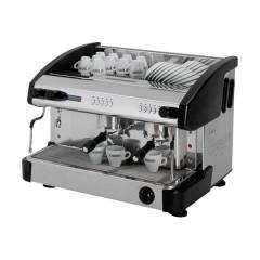 Ekspres do kawy 2-grupowy z wyświetlaczem - czarny 11,5l 3,2kW
