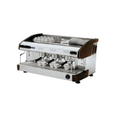 Ekspres do kawy 3-grupowy z wyświetlaczem - czarny 17,5l 4,2kW