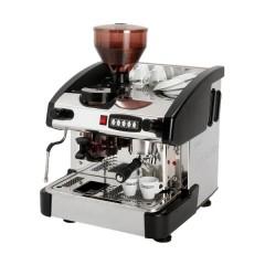 Ekspres do kawy 1-grupowy z młynkiem - czarny 6l 3,3kW