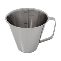 Miarka ze stali nierdzewnej 2 litry