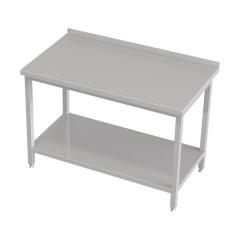 Stół przyścienny z półką