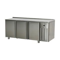 Stół chłodniczy trzydrzwiowy / blat ze zlewem 0,38kW