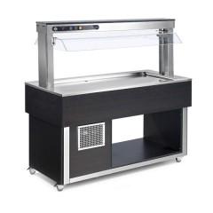 Witryna chłodnicza GN  6x 1/1-200mm