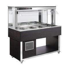 Witryna chłodnicza GN 4x 1/1-200mm