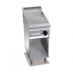 Elektryczna płyta grilowa z szafką 4kW E7FR4M