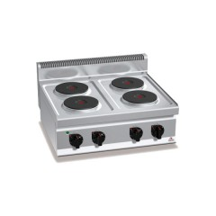 Kuchnia elektryczna 4-płytowa 10,4kW