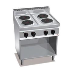 Kuchnia elektryczna 4-płytowa z szafką 10,4kW