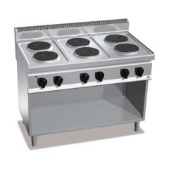 Kuchnia elektryczna 6-płytowa z szafką 15,6kW