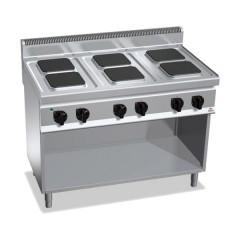 Kuchnia elektryczna 6-płytowa z szafką 15,5kW