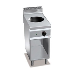 Wok indukcyjny z szafką 3,5kW E7WOK/IND