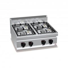 Kuchnia gazowa 4-palnikowa 21,5kW