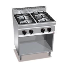 Kuchnia gazowa 4-palnikowa z szafką 28kW G7F4MP