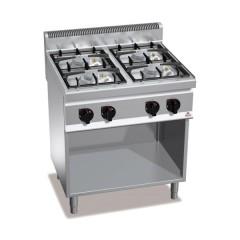 Kuchnia gazowa 4-palnikowa z szafką 21,5kW