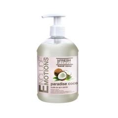 Mydło w żelu do rąk o zapachu kokosowym