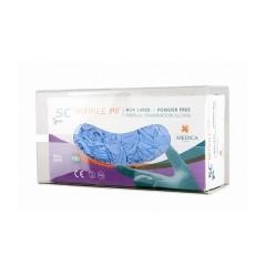 Plastikowe rękwiczki - XL