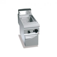 Gazowe urządzenie do gotowania makaronu 45l 13kW z szafką