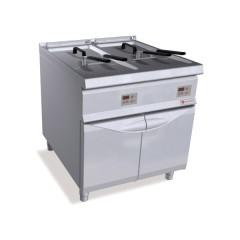 Frytownica elektryczna 2x22l 44kW z szafką SE9F22-8MSEL 2x22l